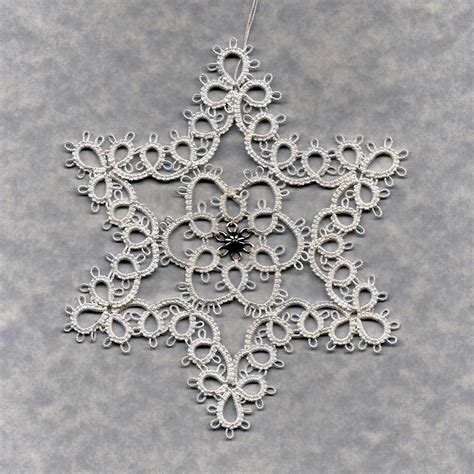 star snowflake book tatting by myra piper out of print