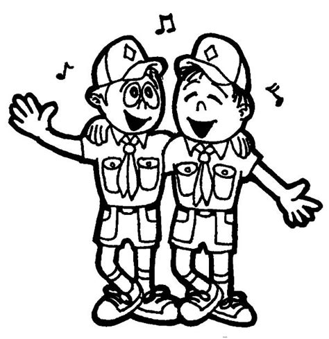 eagle scout coloring page boy scouts singing together coloring pages best place to