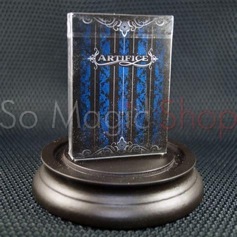 Artifice Blue Card artifice blue by ellusionist so magic shop