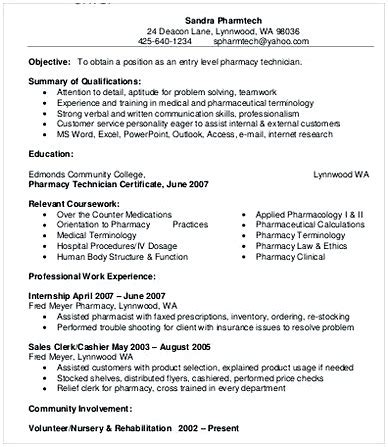 Pharmacy Manager Resume by Pharmacy Manager Resume