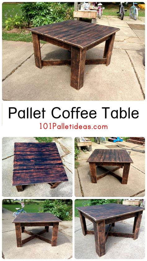 Pallet Coffee Table Pinterest 1000 Ideas About Wood Pallet Coffee Table On Pinterest Pallet Coffee Tables Coffee Tables