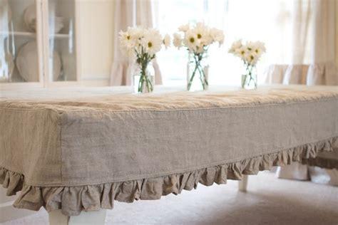 farmhouse style burlap tablecloth for the home