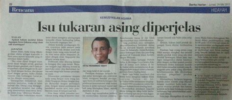 berita harian singapura kemusykilan agama hukum forex berita harian singapura