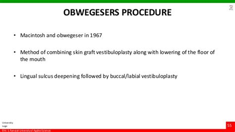 vestibuloplasty indications vestibuloplasty ridge extension procedures