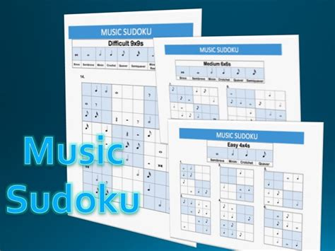 printable sudoku topical music sudoku by russwilliams teaching resources tes