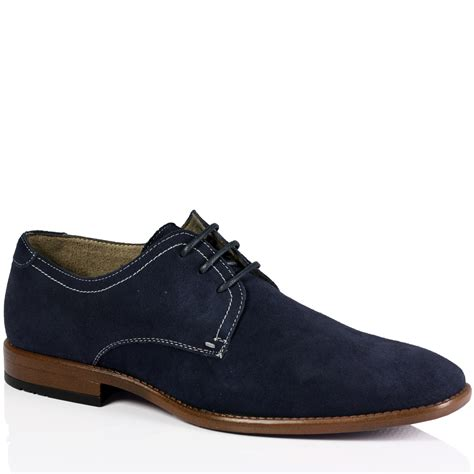 office shoes oxford mens casual lace up soft suede work office smart oxford