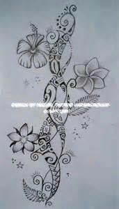 dessin pour tatouage de femme de style purement polyn 233 sien