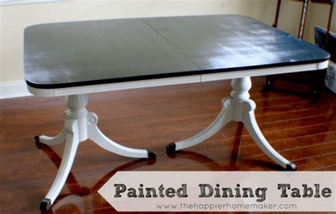 dining table painting dining table