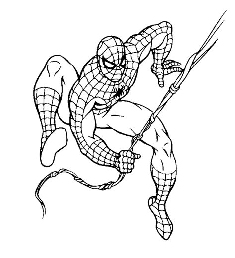 coloring pages of ultimate spider man spiderman coloring pages bestofcoloring com