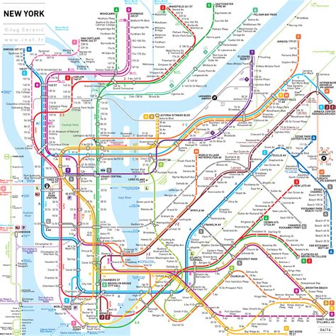 New York On A Map by Mta New York City City Subway Maps World Map Photos And