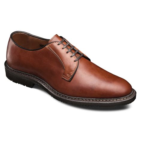 allen edmonds comfortable badlands plain toe lace up oxford men s comfort shoes by