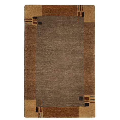 modern brown rug tufenkian modern brown wool rug 4816 andonian rugs seattle bellevue store sales