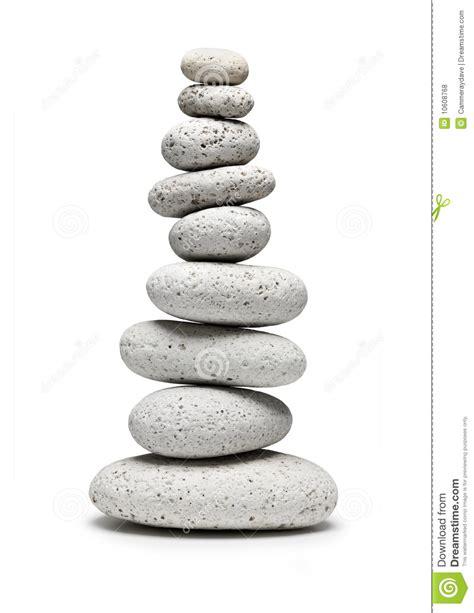 imagenes piedras blancas equilibrio de nueve piedras blancas fotos de archivo