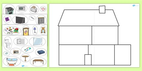 card sort activity template large house sorting activity bic picture houses and homes