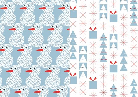 Printable Xmas Wrapping Paper | 7 best images of printable christmas gift paper