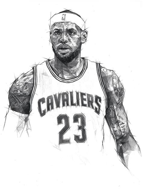 king james coloring pages double scribble lebron james basketball lebron james