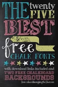 mia merethe s free chalk fonts