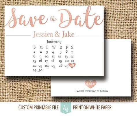 should save the dates match wedding invitations gold save the date with calendar click through to
