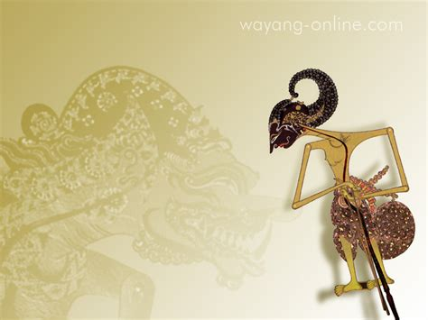wallpapersku indonesian wayang desktop wallpaper