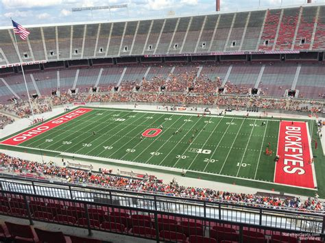 What Is Section 25 by Ohio Stadium Section 25d Rateyourseats