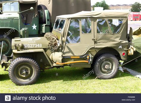 old military jeep old wwii american military jeep at a public event in