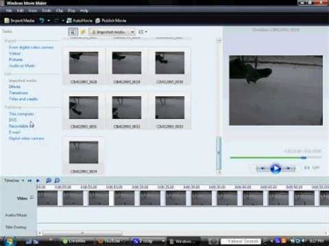 tutorial reverse a clip in windows movie maker tutorial how to reverse videos in windows movie maker