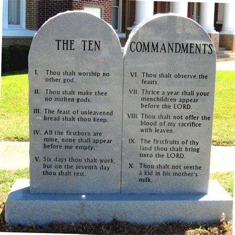 The Ten Commandments ten commandments wrong ones pastor better than esdras