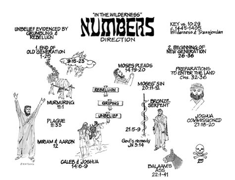 Book Of Numbers Outline by Promise And Covenant Eye On The Torah