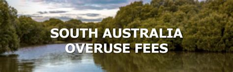 Of South Australia Mba Fees by Balance Your Water And Avoid South Australia Overuse Fees