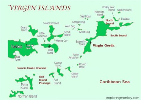 map of st and surrounding islands islands map st st croix st