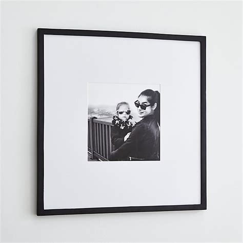 Matte Black Walls by Matte Black 11x11 Wall Frame Crate And Barrel