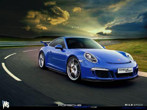 Porsche 911 Gt3 Blue Wallpaper 1280x960 21703