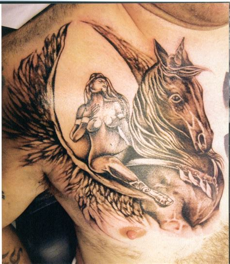 horse tattoo tribal tatto awesome tattoos