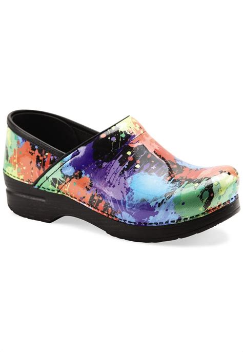 clogs for nursing dansko nursing shoes and clogs splatter nursing shoes