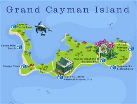 printable map grand cayman island grand cayman new 2021