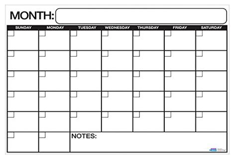 extra large printable monthly calendar extra large print calendars bing images