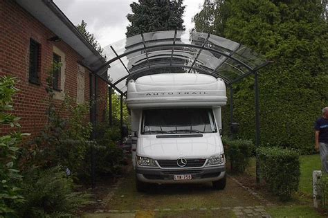 Car Port Design des carports design pour camping car au meilleur prix bozarc