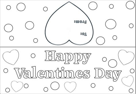 happy valentines day printable cards valentine s day cards to print and color9 best images of