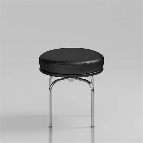 Le Corbusier Stool by 3d Le Corbusier Lc8 Stool High Quality 3d Models