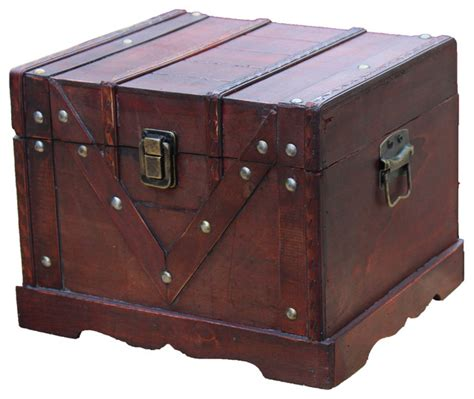 small wooden treasure chest boxes small wooden treasure box old style treasure chest