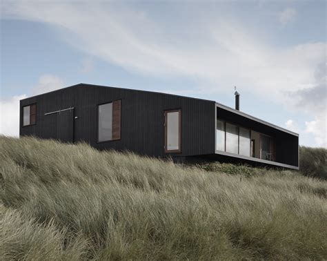 vacation house in henne mette lange architects archdaily