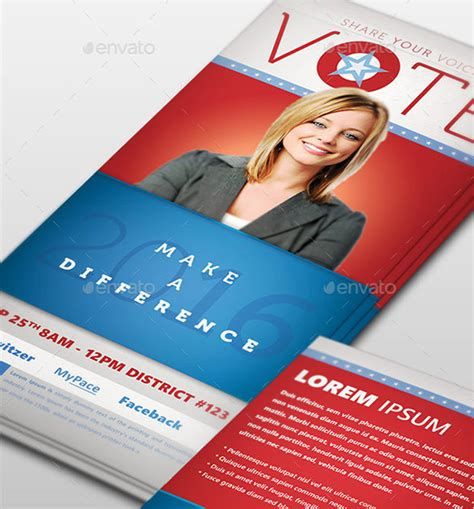 Political Palm Card Template Word by Palm Card Template 18 Free Printable Sle Exle