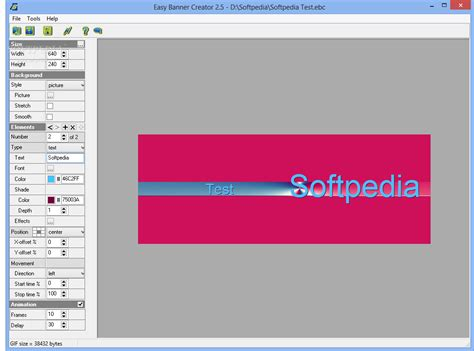 graphic creator free easy banner creator softpedia