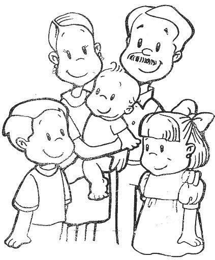 imagenes sobre la familia para pintar dibujos para colorear pintar imagenes dibujos de la