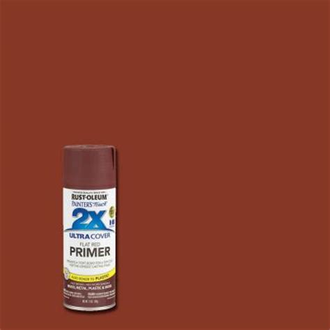 rust oleum painter s touch 2x 12 oz flat primer general purpose spray paint of 6