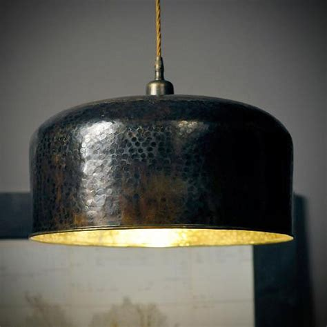 Reclaimed Pendant Lighting Light With Copper Shade Interior Ceiling And Hanging Lights