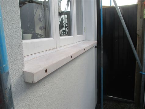 Replacement Window Sills Pvc Window Sills On An External Insulation