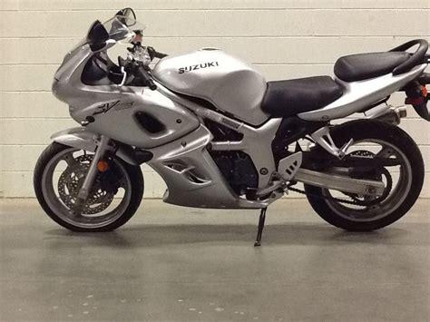 Suzuki Sv650s 2002 2002 Suzuki Sv650s Sportbike For Sale On 2040 Motos