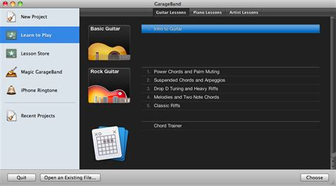 Garageband Lesson Store Does It Cost To Lessons On Garageband