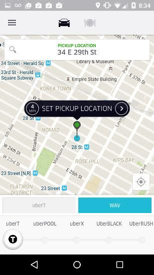 uber app for android uber for android